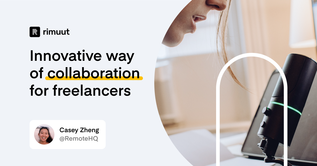 Innovative way of collaboration for freelancers